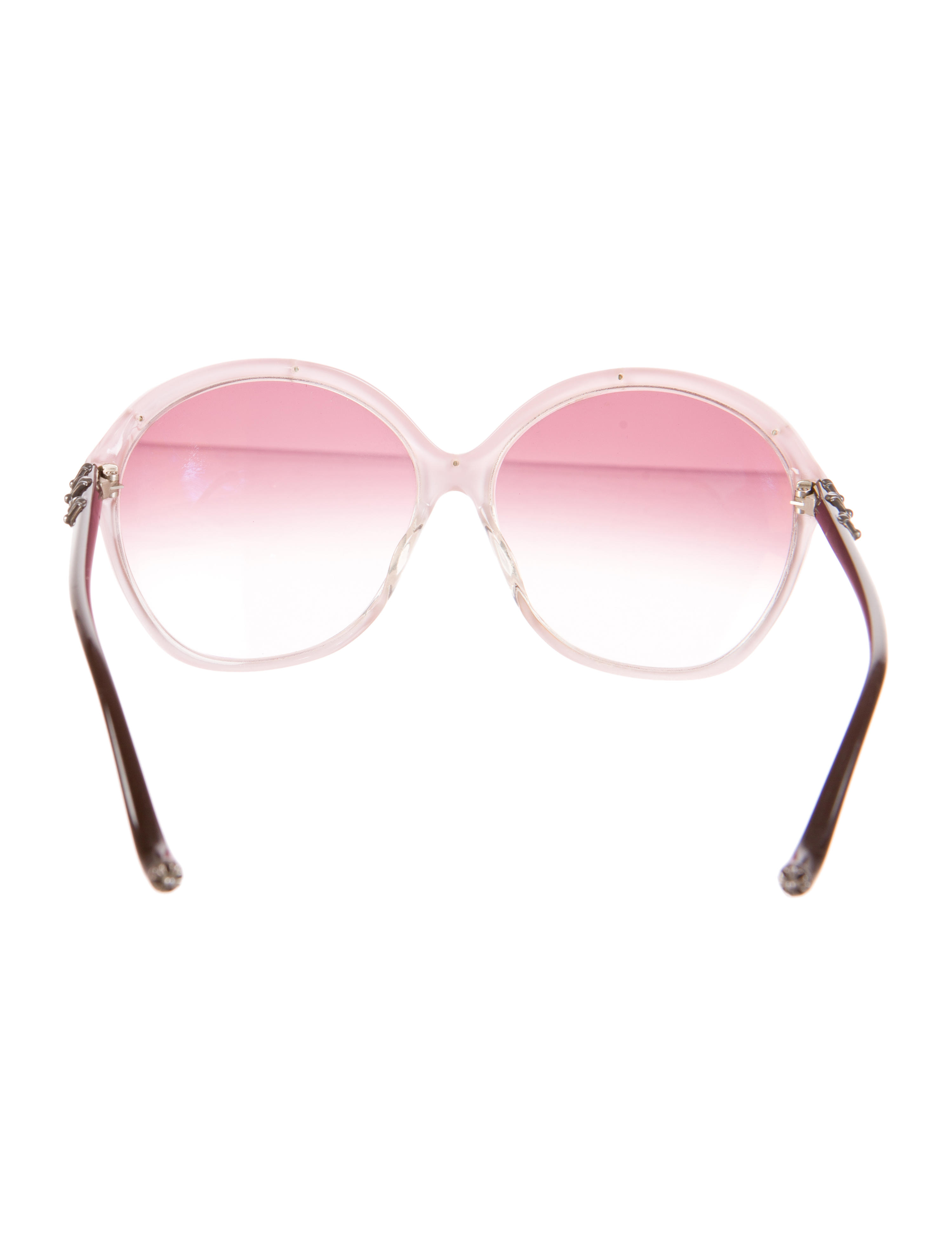 80ae0c3ae8d7 CHROME HEARTS Women s COCK A ROACH SUNGLASSES - Shop Chrome Hearts ...