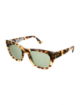 CHROME HEARTS Women's Brown and tan tortoiseshell SUNGLASSES