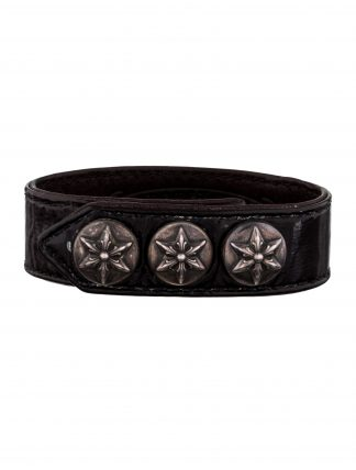 CHROME HEARTS Women's PATENT LEATHER BRACELET