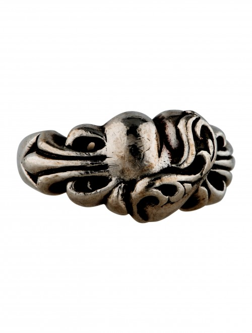 CHROME HEARTS CARVED BAND RING